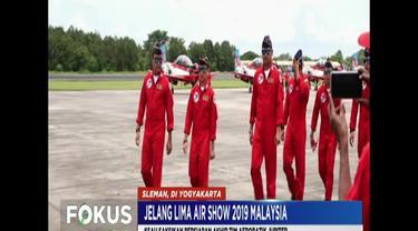 Persiapan akhir tim ini di Landasan Udara Adi Sucipto, Yogyakarta, pada Selasa siang, disaksikan Kepala Staf TNI AU Marsekal TNI Yuyu Sutisna.