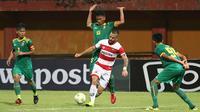 Duel Sriwijaya FC vs Madura United di Piala Indonesia 2018. (Bola.com/Aditya Wany)