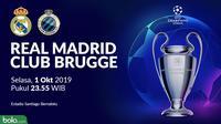 Liga Champions - Real Madrid Vs Club Brugge (Bola.com/Adreanus Titus)