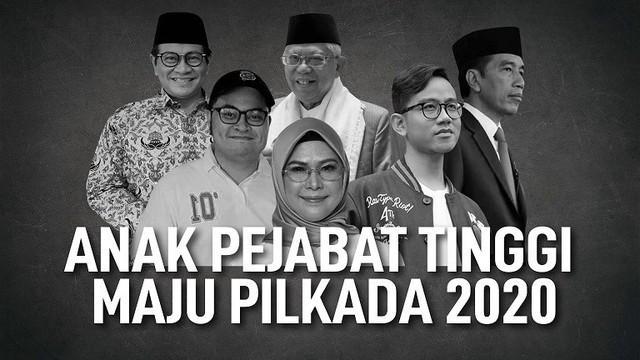 Tak hanya putra sulung Presiden Jokowi, Gibran Rakabuming saja yang akan maju di Pilkada 2020. Beberapa anak pejabat tinggi ini juga disebut masuk dalam daftar calon Pilkada 2020.