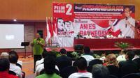 Anies menjelaskan Jokowi adalah pemimpin yang hadir dari rakyat.