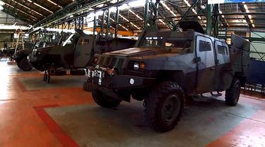 Pindad Siapkan Versi Sipil dari 'Humvee' Komodo
