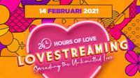 KapanLagi Youniverse (KLY) menggelar event di hari kasih sayang atau Valentine's Day. Acara tersebut diberi nama Lovestreaming.