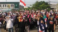Deklarasi 2019 Ganti Presiden di Tangerang Selatan. (Liputan6.com/Pramita Tristiawati)