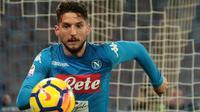4. Dries Mertens (Napoli) - 17 Gol (4 Penalti). (AFP/Carlo Hermann)