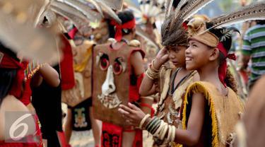 20150822-Festival-Pontianak-Suku-Dayak-Landak