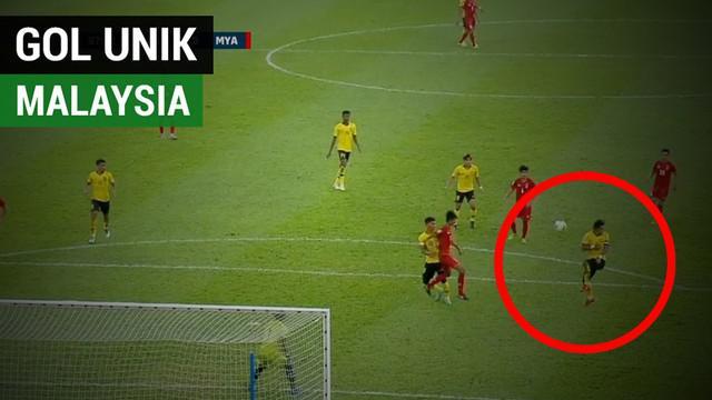 Berita video momen gol unik Malaysia saat mengalahkan Myanmar di Grup A Piala AFF 2018, Sabtu (24/11/2018).
