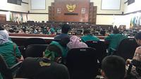 Gelombang demonstrasi menolak Rancangan Undang-Undang (RUU) yang dinilai bermasalah juga muncul di Aceh (Liputan6.com/Rino Abonita)