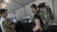 Defense Advanced Research Projects Agency (DARPA) Demo Day di Pentagon pada 11 Mei 2016 di Washington, DC.  (Brendan Smialowski / AFP)