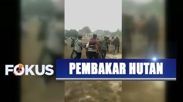 Polisi telah menangkap 230 pelaku pembakaran hutan dan lahan di Kalimantan.
