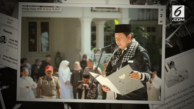 Tim penindakan Komisi Pemberantasan Korupsi (KPK) menggelar operasi tangkap tangan (OTT) di Kabupaten Cianjur Jawa Barat, Rabu (12/12/2018). Kali ini, tim KPK menangkap Bupati Cianjur Irvan Rivano Muchtar.