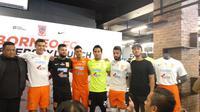 Pusamania Borneo FC bekerja sama dengan Nike untuk mengarungi Liga 1 2018. (Bola.com/Budi Prasetyo Harsono)