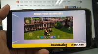 Fortnite sudah meluncur resmi di Android. Liputan6.com/ Yuslianson