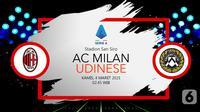 AC Milan vs Udinese (liputan6.com/Abdillah)