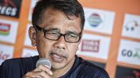 Pelatih PSIS Semarang Jafri Sastra. (foto: Dewi Divianta)