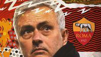 AS Roma - Jose Mourinho (Bola.com/Adreanus Titus)