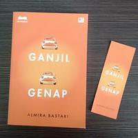 Novel Ganjil Genap./Copyright Endah