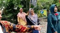 Debt collector hendak merampas mobil di Banyumas, Jawa Tengah, emak-emak histeris. (Foto: Liputan6.com/Istimewa)