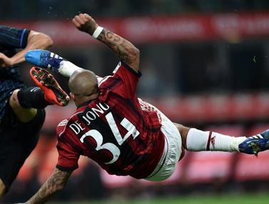 AC Milan Paksa Inter Milan Bermain Imbang