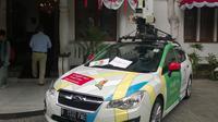 Mobil Google Street View di Jakarta.