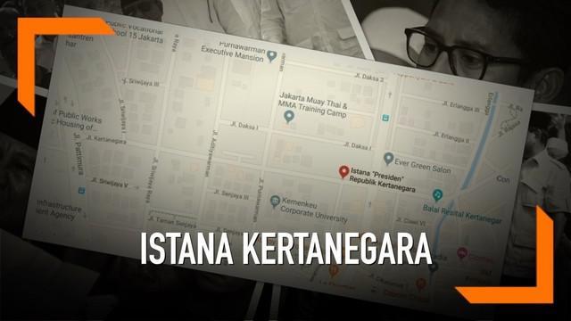 Nama Prabowo Subianto kembali menjadi pembicaraan setelah sebuah titik lokasi  bertuliskan 'Istana Presiden Kertanegara' muncul di aplikasi Maps.