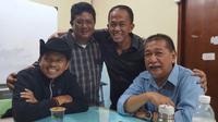Dedi Mulyadi dan Deddy Mizwar bertemu di Kota Bandung, Jawa Barat, Rabu (27/12/2017) (Ist)