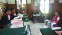 Sidang lanjutan ZA di Pengadilan Negeri Surabaya. (suarasurabaya.net/Anggi)