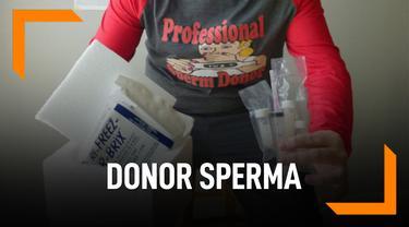 Donorkan Sperma Karena Ingin Punya 2.500 Anak