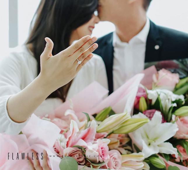 Yuanita resmi bertunangan beberapa waktu lalu/copyright Instagram - yuanitachrist