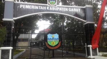 Kompleks kawasan perkantoran sekretariat daerah (Setda) pemerintahan kabupaten Garut