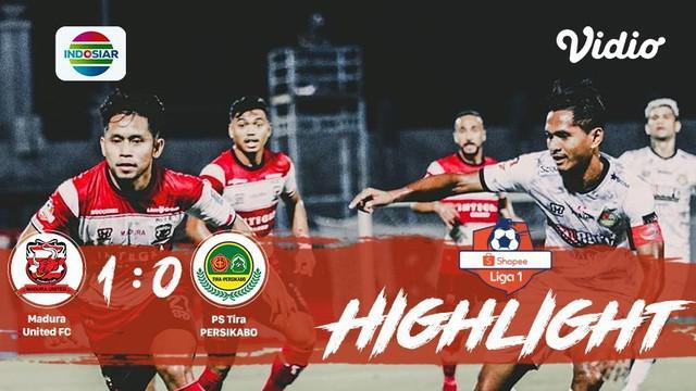 Babak Penyisihan #ShopeeLiga1 yang mempertemukan #Madura United FC vs #PS Tira Persikabo pada hari Rabu malam (30/10/2019) dengan ...