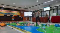Karo Ops Polda Sulbar Kombes Pol Moch Noor Subchan saat memimpin Tectical Floor Game (TFG)