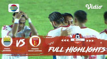 Berita video highlights Shopee Liga 1 2019 antara Persib Bandung melawan Perseru Badak Lampung FC yang berakhir dengan skor 4-0, Senin (16/12/2019).
