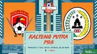 Shopee Liga 1 - Kalteng Putra Vs PSS Sleman (Bola.com/Adreanus Titus)