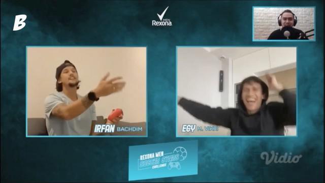 Berita video beragam ekspresi yang ditunjukkan Egy Maulana Vikri dan Irfan Bachdim saat keduanya beradu main gim di Rexona Men Soccer Stars Challenge.