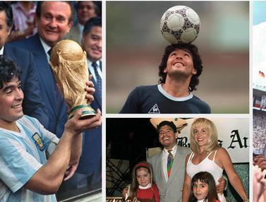 Jejak Maradona di Meksiko