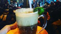 Teh Talua, minuman khas Ranah Minang pembugar badan. (Foto: Liputan6.com/ Novia Harlina)