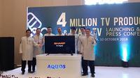 Sharp baru saja meluncurkan Azan TV yang hadir dengan fitur pengingat azan (liputan6.com/Agustinus M.Damar)