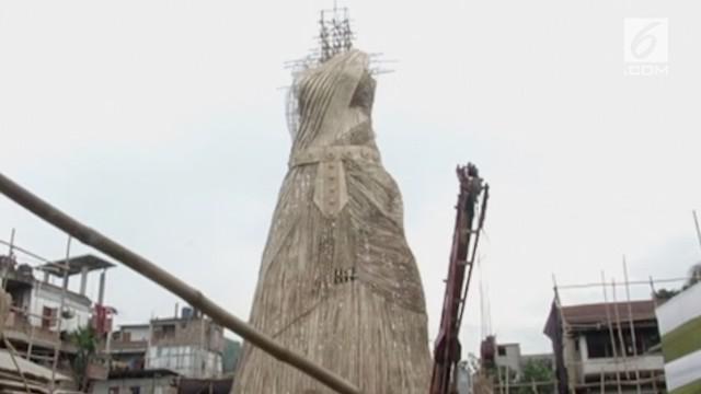 Patung ini telah diusulkan masuk Guinness Book Of World Records.