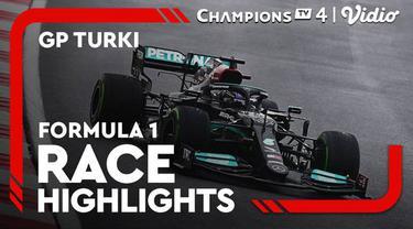 Berita video highlights kemenangan perdana Valtteri Bottas di seri F1 2021 yaitu di GP Turki yang digelar pada Minggu (10/10/2021) malam hari WIB.