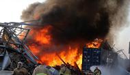 Ledakan di Beirut Lebanon. (AFP)
