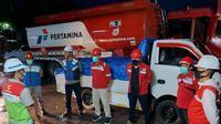 Elnusa Petrofin membentuk Satgas bencana gempa dan mengirimkan sejumlah bantuan logistik ke Majene, Sulawesi Barat. (Dok Elnusa)