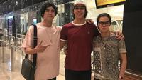 Al, El, Dul, tiga anak laki-laki yang tampannya bikin hati meleleh. Meski sekarang ini mereka terpisahkan oleh jarak yang jauh, namun sepertinya tak membuat kekompakan mereka jadi luntur. (Instagram)