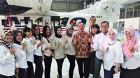Millennial BUMN, bersama Deputi Bidang Pertambangan, Industri Strategis, dan Media Kementerian BUMN Fajar Harry Sampurno. Dok: Istimewa