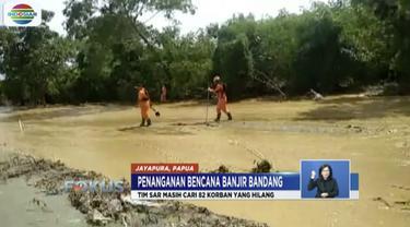 Tim SAR gabungan berusaha mencari 82 korban banjir bandang Jayapura yang masih hilang meski tenggat waktu masa tanggap darurat tinggal sehari lagi.