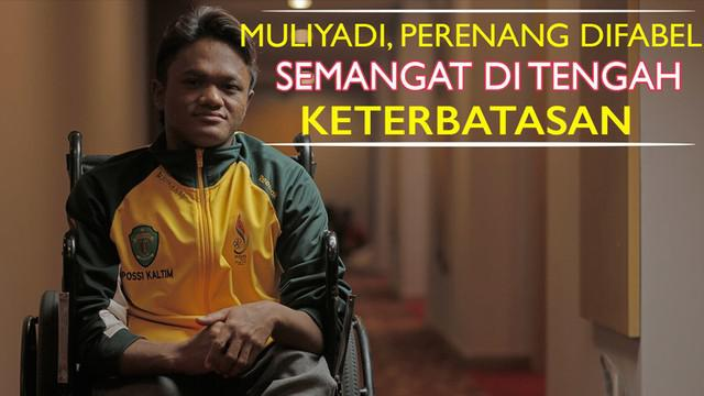 Video profil Muliyadi, perenang difabel Peparnas 2016.