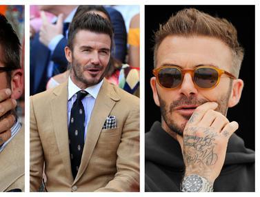 FOTO: David Beckham, Dulu Pemain Ganteng Sekarang Presiden Klub Terkeren