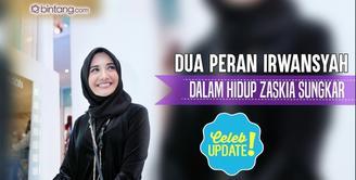 Irwansyah punya dua peran di dalam hidup Zaskia Sungkar, sebagai suami dan partner bisnisnya.