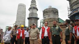 Lokasi pembangunan pabrik OKI Pulp & Paper Mills di Sumatra Selatan, Kamis (1/3). Pabrik OKI Pulp & Paper Mills seluas 1.700 ha, berkapasitas produksi 2 juta ton pulp dan 500 ribu ton kertas tissue pertahun . (Liputan6.com/Gempur M Surya)