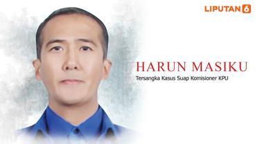 Banner Infografis Harun Masiku Buronan KPK